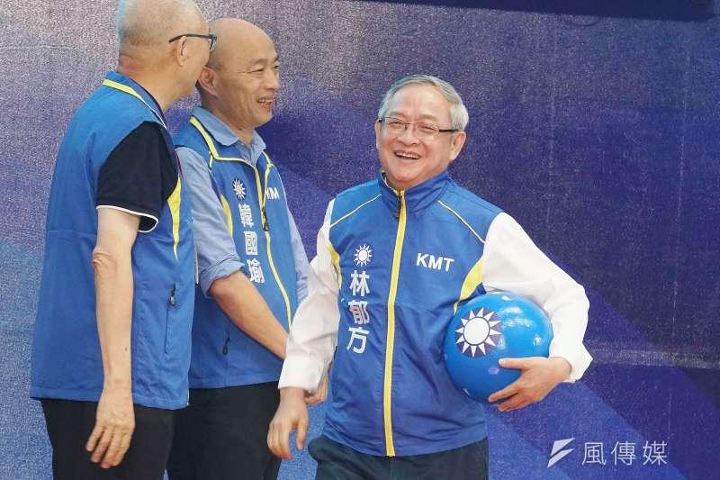 20190728-國民黨全代會,立委被提名人林郁方出席。(盧逸峰攝)