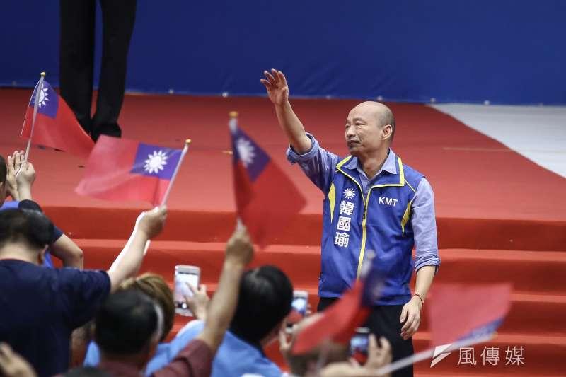 20190728-國民黨28日舉行全代會,正式提名高雄市長韓國瑜為2020總統參選人。(ˊ陳品佑攝)