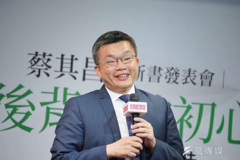 立法院副院長蔡其昌(見圖)19日接受廣播節目專訪,表示在520總統第二任就職後不會換閣揆。(資料照,盧逸峰攝)