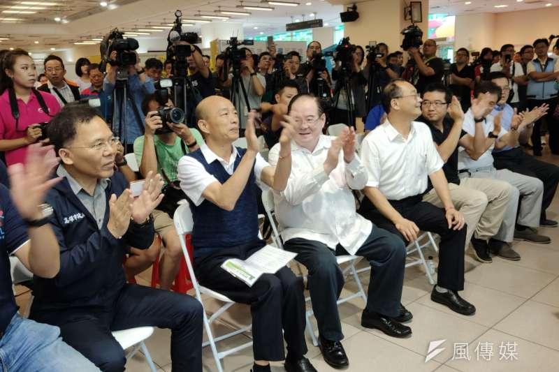高雄市政府勞工局跨縣市舉辦「北漂就博會」,日前已圓滿結束。(圖/徐炳文攝)