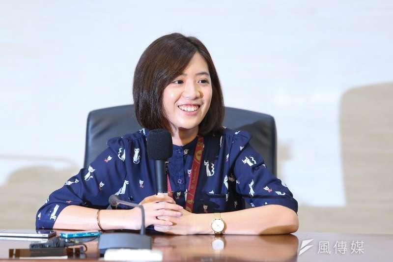 台北市副發言人黃瀞瑩(見圖)將代表台灣民眾黨參選北市第一選區立委的傳言不斷,但黃本人至今仍不願證實。(資料照,顏麟宇攝)