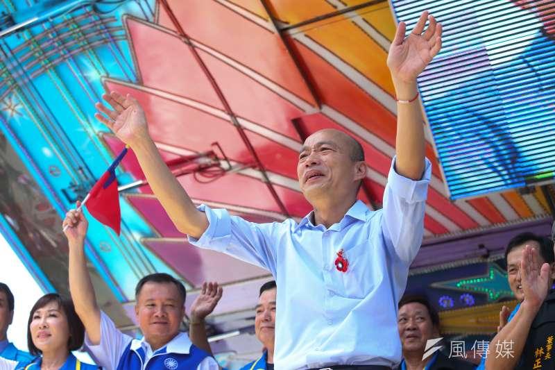 高雄市長韓國瑜選總統危機四伏。(顏麟宇攝)