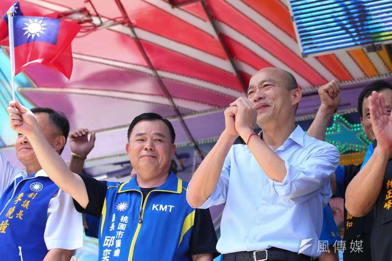 國民黨確定提名韓國瑜角逐2020,他的競選團隊也初步成形。(顏麟宇攝)