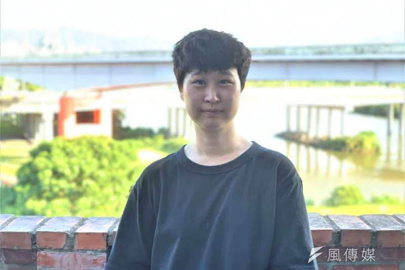 南韓華僑藝術家宋怡玟(簡恒宇攝)