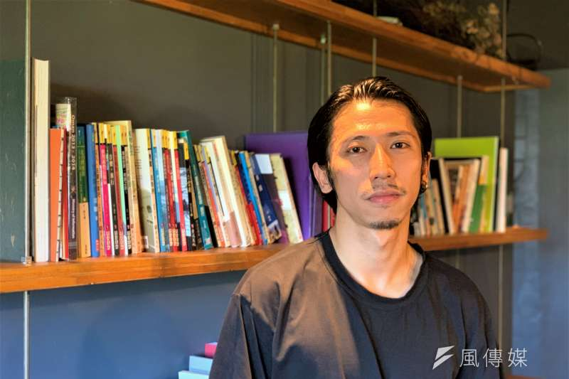香港當代藝術家葉惠龍(簡恒宇攝)
