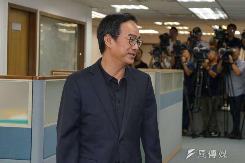 20190807-民進黨中執會,立委李昆澤出席。(盧逸峰攝)