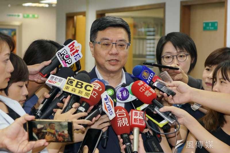 20190807-民進黨中執會,主席卓榮泰出席。(盧逸峰攝)
