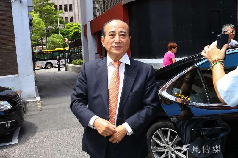 20190807-前立法院長王金平7日出席全球氣候變遷調適方案與智慧防災治水計畫公聽。(顏麟宇攝)
