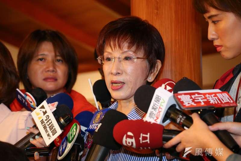 前立法院副院長洪秀柱(見圖)接受廣播專訪,再度提及她主張的「一中同表」口號。(資料照,顏麟宇攝)