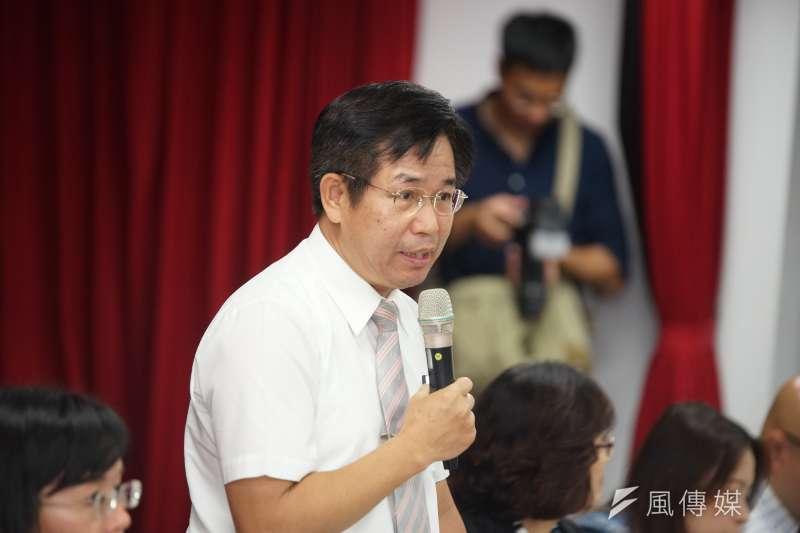 新課綱解析座談會,教育部長潘文忠出席。(資料照,盧逸峰攝)