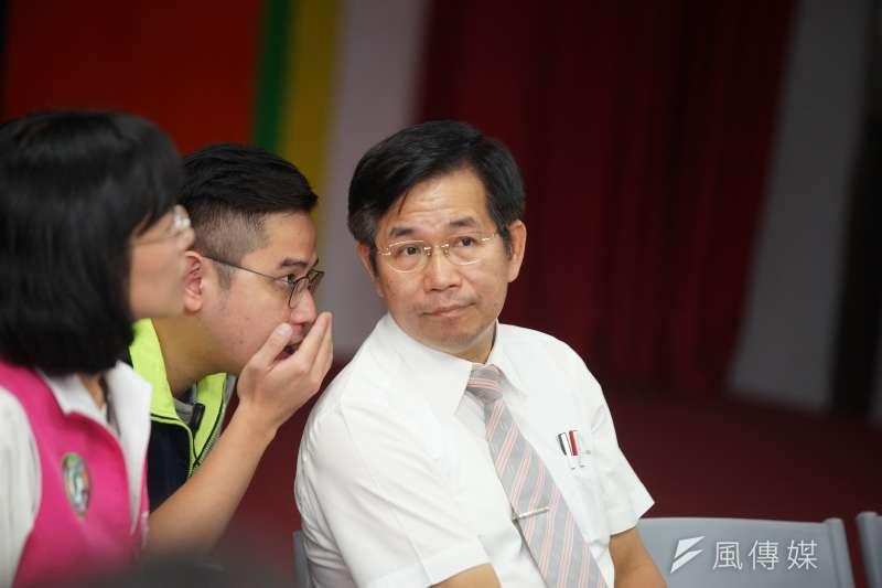 20190810-108新課綱解析座談會,教育部長潘文忠出席。(盧逸峰攝)