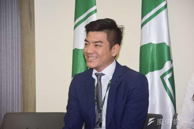 20190812-民進黨社團部主任出席民進黨中央黨部主管人事公佈記者會。(吳俊廷攝)