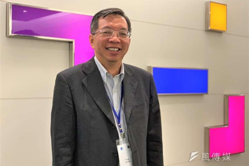 法國歐風能源(EOLFI)大中華區總經理鍾弘錦(簡恒宇攝)