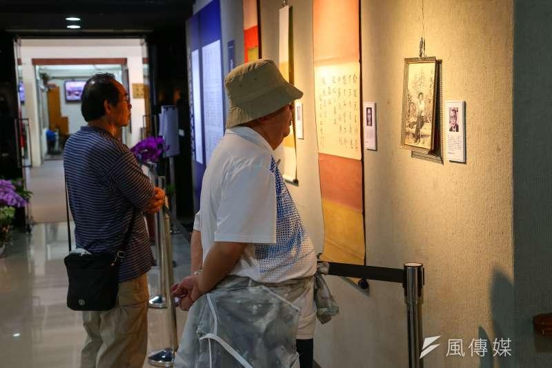 20190813-「中華文化之滅絕與復興展覽」活動主辦人宋緒康專訪。(顏麟宇攝)