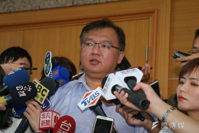 20190814-國民黨中常委李德維14日出席國民黨中常會。(顏麟宇攝)