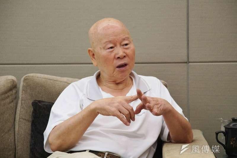 民進黨前主席、亞太和平研究基金會董事長許信良認為,如果以中國歷史比喻,國民黨總統參選人韓國瑜有如流寇。(資料照,盧逸峰攝)