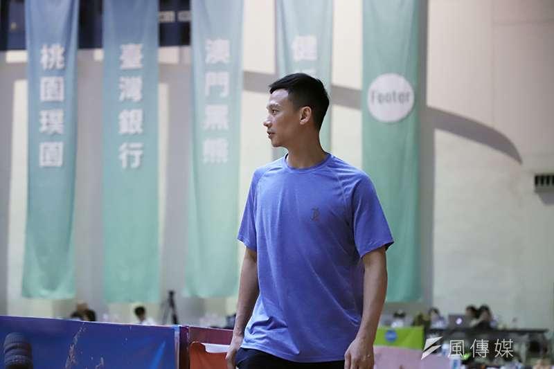 身為前中華男籃的一員,黃寶賜決定搭建夏季聯賽這個舞台,照顧學弟們,給大家被看見的機會。(圖/余柏翰攝)