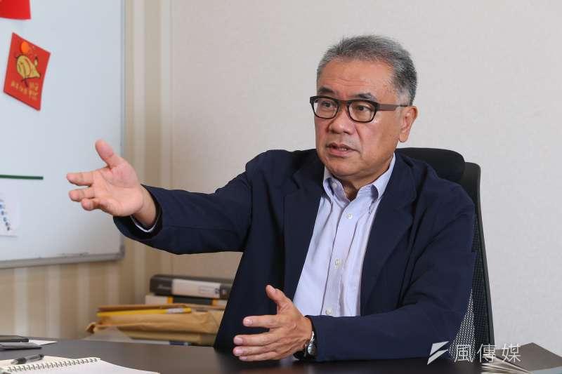20190816-循環台灣基金會創辦人黃育徵專訪。(顏麟宇攝)
