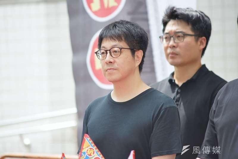 高雄市文化局前局長尹立表示,下周將正式提出高雄市長韓國瑜罷免案。(資料照片,盧逸峰攝)