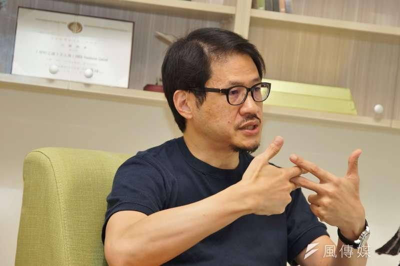 20190815-新浪網創辦人、CNEX董事長蔣顯斌接受《風傳媒》專訪。(盧逸峰攝)