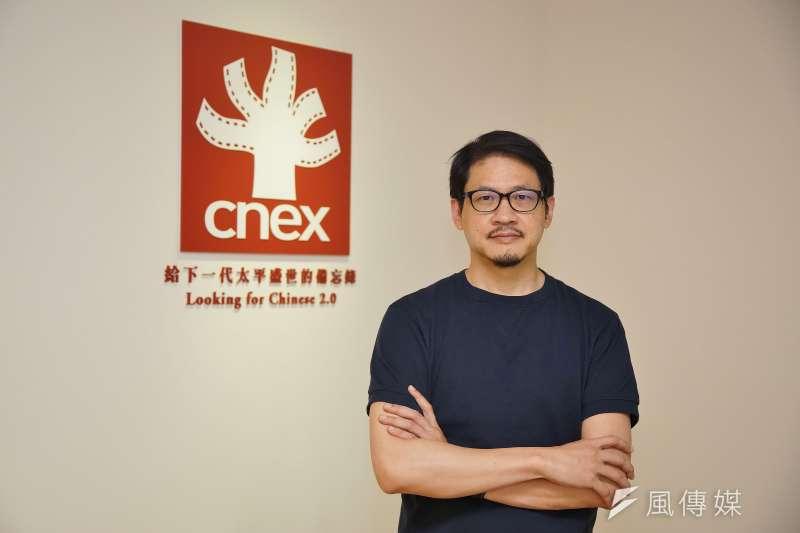 面對越來越加速的影像世界,CNEX董事長蔣顯斌如何分析?(盧逸峰攝)