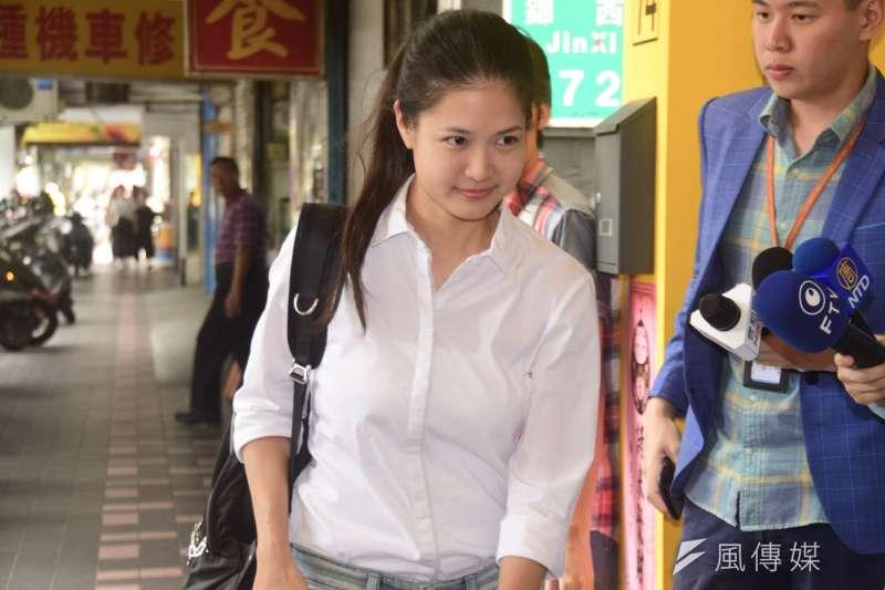 時代力量黨內將在20日中午所舉辦的決策會議中推選新主席,目前決策委員中,僅有年僅29歲的台北市議員林亮君(見圖)表態參選黨主席。(資料照,吳俊廷攝)