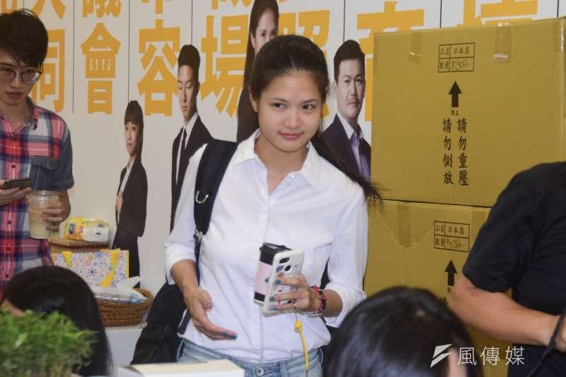 時代力量可望在20日推選新任黨主席,但目前僅台北市議員林亮君(見圖)表態欲爭取。(資料照,吳俊廷攝)