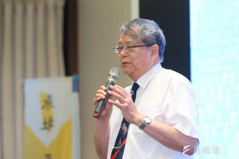 監察委員陳師孟認為,台灣法官沒有一個可制衡單位,因此監察權是唯一能制衡司法的權力。(資料照,顏麟宇攝)