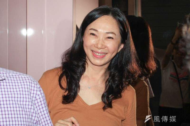 回首高雄市長韓國瑜參選一來的點點滴滴,夫人李佳芬(見圖)感嘆,許多外界抹黑都沒見黨和中央政府出手幫助,讓她懷疑為什麼當初要支持韓從政。(資料照,蔡親傑攝)