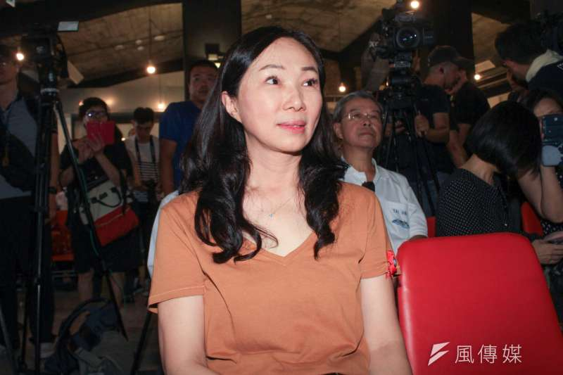 針對前雲林縣長蘇治芬決定參選立委的發言,韓國瑜妻子李佳芬表示不願多談,但「自己想做的事,何必推給別人負責」。(資料照,蔡親傑攝)