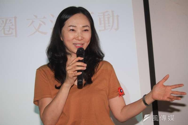 20190817-高雄市長夫人李佳芬17日參訪永康街商圈。(蔡親傑攝)