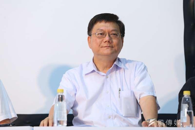 20190817-前行政院副院長杜紫軍17日出席韓國瑜國政顧問團成軍記者會。(顏麟宇攝)
