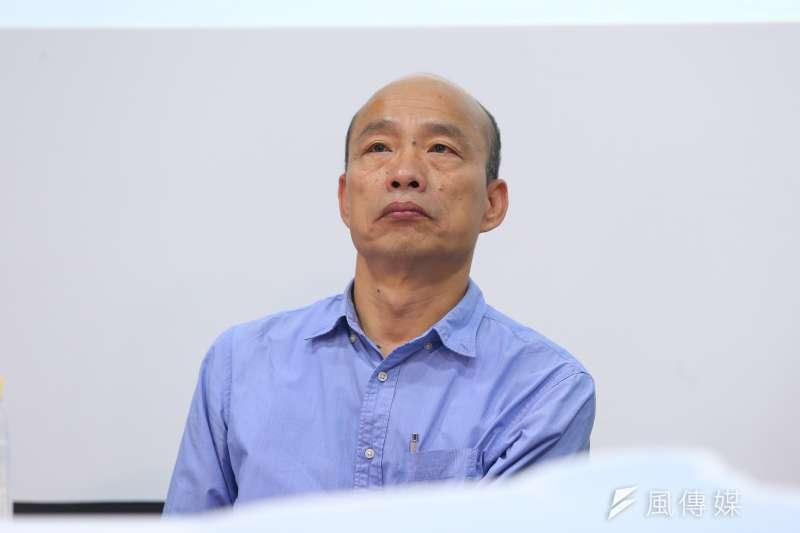 作者認為,國民黨總統參選人韓國瑜若能謙沖自牧,或許會是中華民國在台灣的政治現實上,最接近議會內閣制的機會。(資料照,顏麟宇攝)