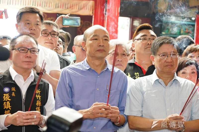 鴻海集團創辦人郭台銘上周退黨,讓挺國民黨的台商相當憂慮。(資料照片,盧逸峰攝)