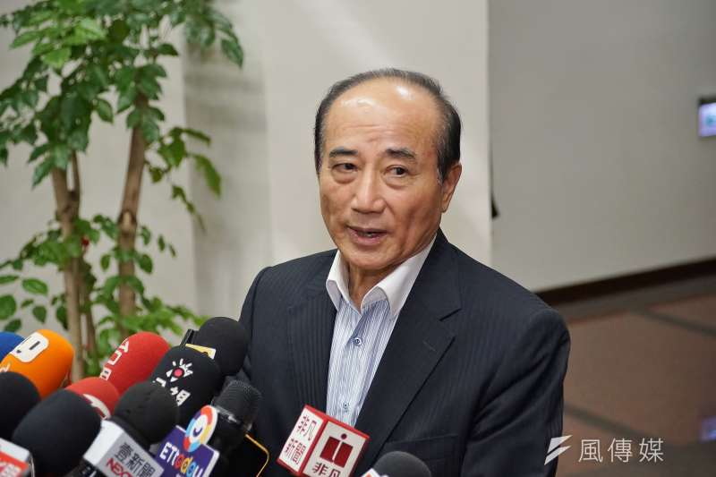 前立法院長王金平表示,他與鴻海創辦人郭台銘、台北市長柯文哲的合作方向沒有改變。(盧逸峰攝)
