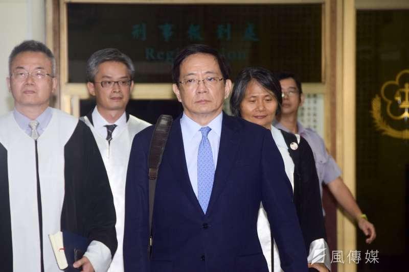 臺大校長管中閔被公務員懲戒委員會記申誡一支。(吳俊廷攝)