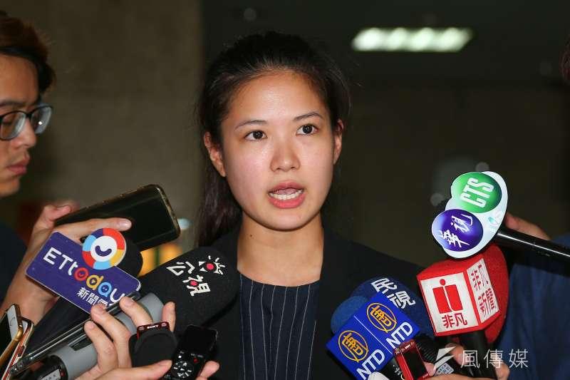 被視為「主和派」的台北市議員林亮君(見圖)未能接任時代力量黨主席,使得時力和民進黨的合作恐越來越難走。(顏麟宇攝)