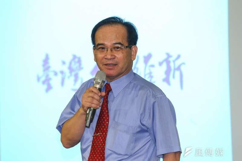 台灣維新黨24日舉行成立大會,並選出前台南縣長蘇煥智為召集人。(顏麟宇攝)