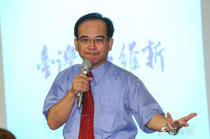 針對民進黨立委林俊憲提出的「黃安條款」,前台南縣長蘇煥智(見圖)表示,該修法案恐還有許多不足之處,呼籲大家想清楚。(資料照,顏麟宇攝)