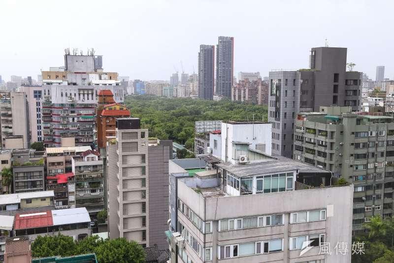 大安區號稱全台房價最高的「天龍國」,但首善之區房價波動大,有個別屋主賠售後、損失百萬。(顏麟宇攝)