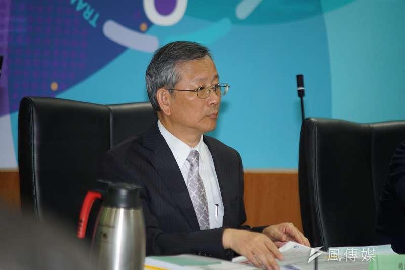 20190826-司改第四次半年進度報告記者會,司法院秘書長呂太郎出席。(盧逸峰攝)