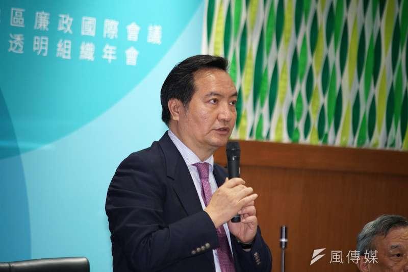 行政院發言人羅秉成表示,申請加入CPTPP是政府長期努力推動的重要經貿政策。(資料照,盧逸峰攝)