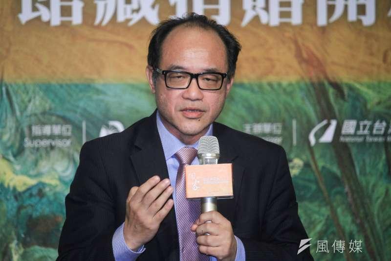 國立台灣美術館館長林志明惹議,國美館員工檢舉林志明夫人「垂簾聽政」,並提供館內購買抽油排煙機都要插手的證據。(資料照,蔡親傑攝)