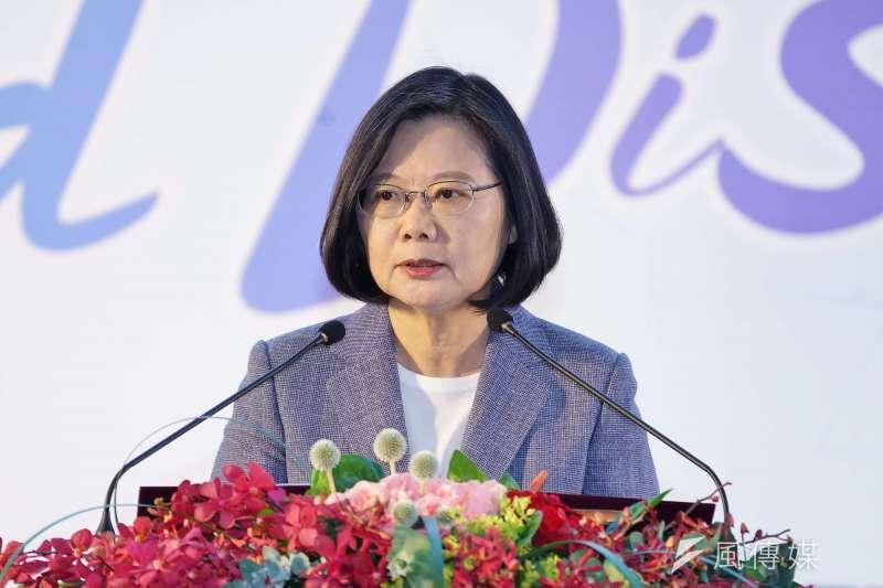 總統蔡英文呼籲北京當局,應信守對香港高度自治的承諾,勿以台灣與其他國家對香港民眾的關心,作為指控外力介入的藉口。(資料照,盧逸峰攝)