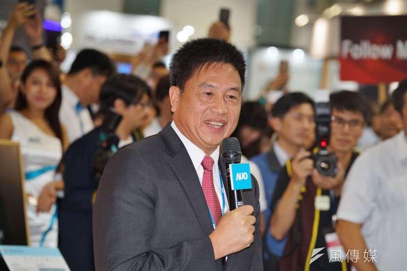 友達光電董事長彭双浪(見圖)表示,現在面板廠必須要靠實力競爭,相信台灣面板公司的實力是不錯的。(資料照,盧逸峰攝)
