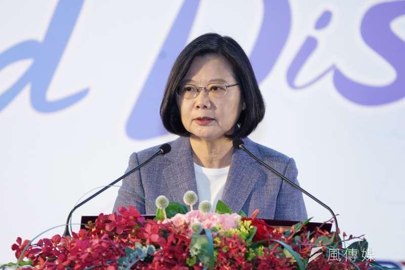 筆者批評,總統蔡英文的兩岸政策不但沒有善盡兩岸和平的職責,更讓台灣天天陷入恐中思維。(資料照,盧逸峰攝)