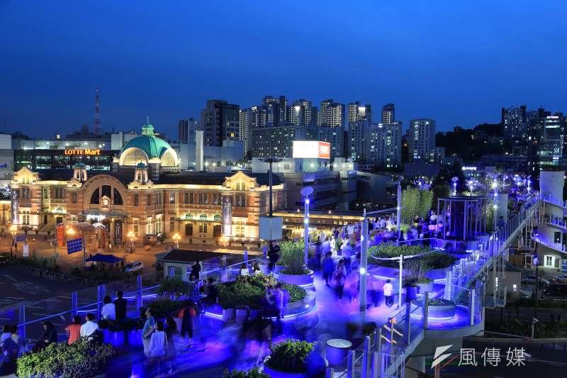 首爾夜景。(首爾市政府提供)