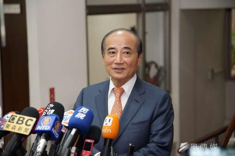 前立法院長王金平(見圖)表示「有道者則得志,無道大家就應該加以推翻」,但不願透露「無道」指得是誰。(資料照,盧逸峰攝)