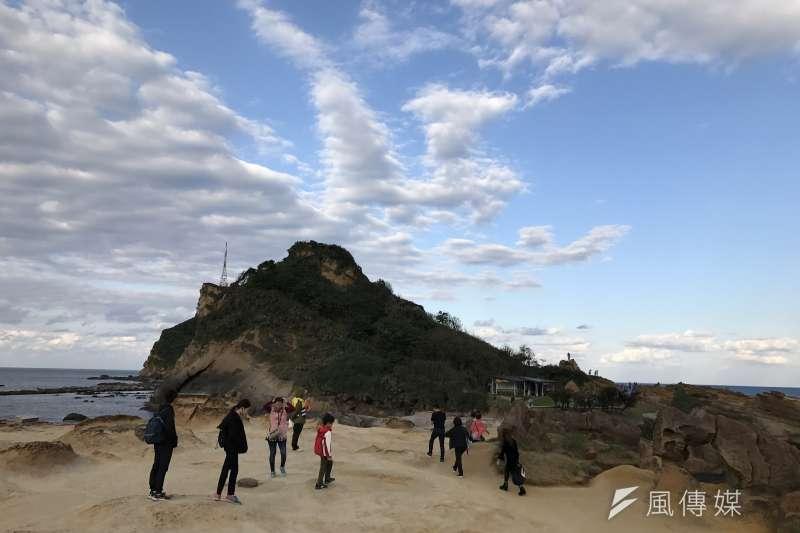陸客觀光野柳(呂紹煒攝)