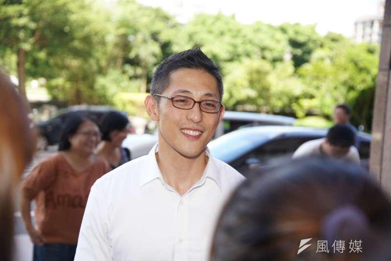 將代表民進黨參選立委的吳怡農(見圖)是特戰隊退伍,且是主動放棄美國籍去服役。(盧逸峰攝)
